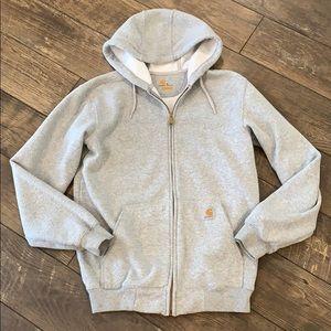 Carhartt Mid Weight Zip Up Sweatshirt